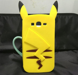 Cartoon fundas Pikachu Pokemon Go coque