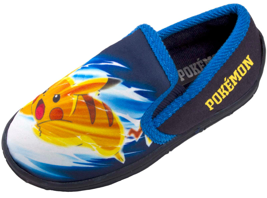 Comfort House Shoes Pikachu Charmander