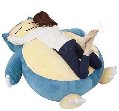 Giant Snorlax Pokemon Cushion is the Cutest Bed for Kids  Peluche