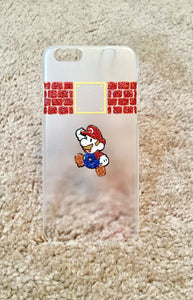 Hand painted Mario phone coque iPhone 6