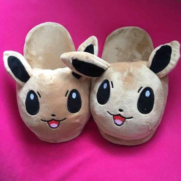 Nwt One Size Eevee Pokemon Chausson