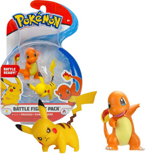POKEMON - Pack de 2 figurines 3-5  POKEMON - Pack de 2 figurines