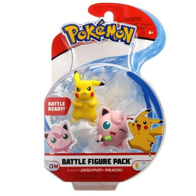 POKEMON - Pack de 2 figurines 3-5  POKEMON - Pack de 2 figurines - [photosafe]