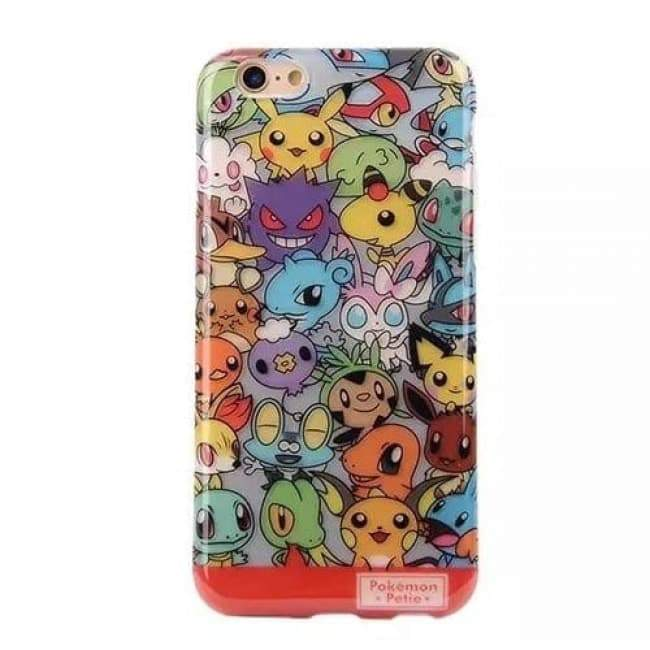 Pikachu Clear coque iPhone 6 6s Plus