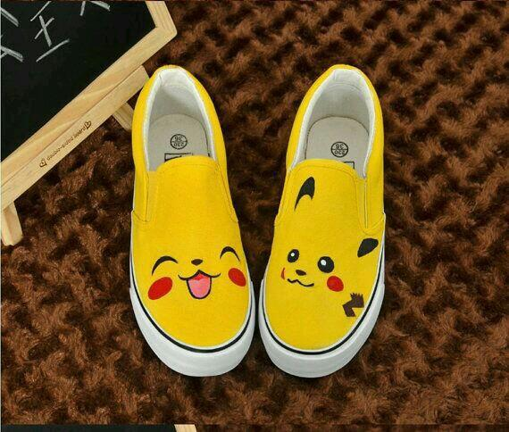 Pikachu Vans! discovered by patty<3