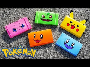 "Pokemon DIY Pencil coque - ""Back to"