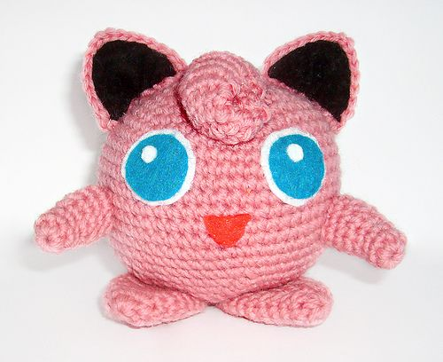 Pokemon Rondoudou / Jigglypuff - free crochet pattern in French