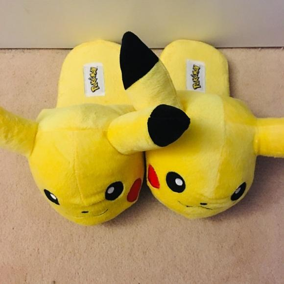 Pokemon Shoes  Pikachu Chausson  Poshmark