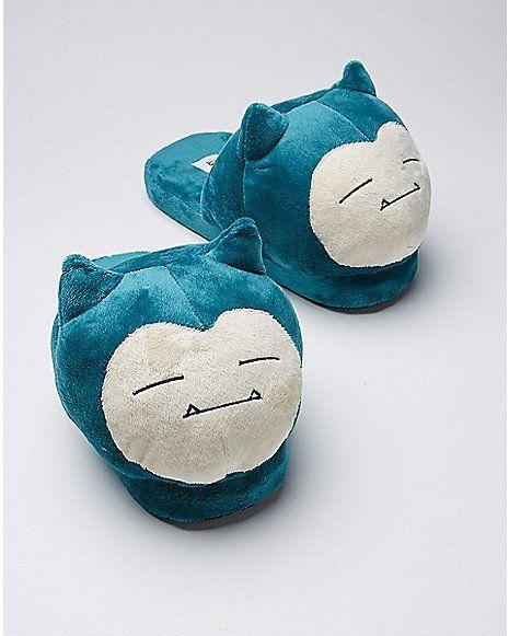 Snorlax Plush Slipper - Pokemon - Spencer's