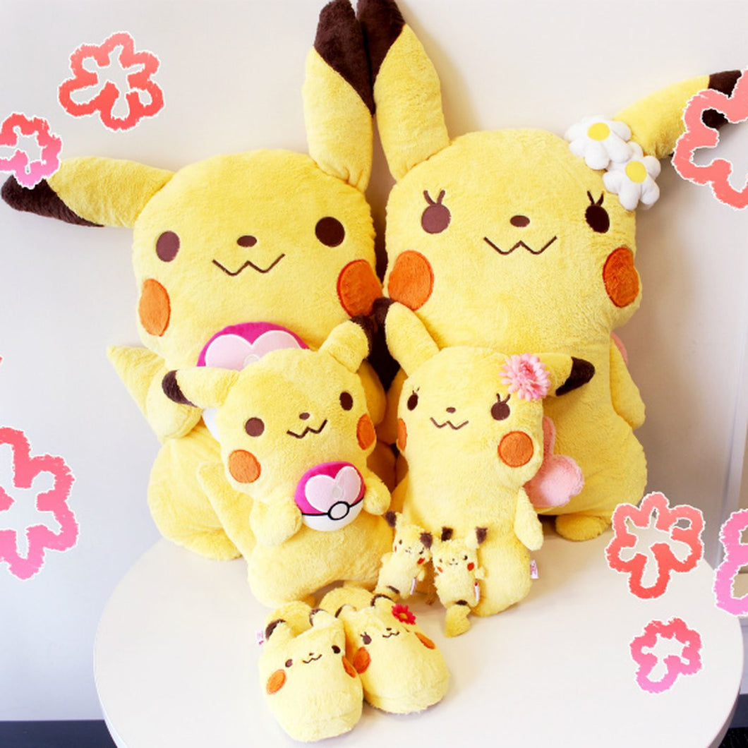 These limited edition Pikachu cushions