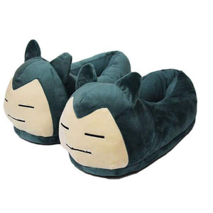 Unisex Anime Cartoon Pokemon Series Slippers House Warm Indoor