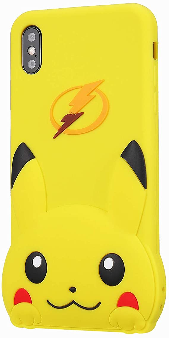 XR Pikachu coque for Girls Teens Women