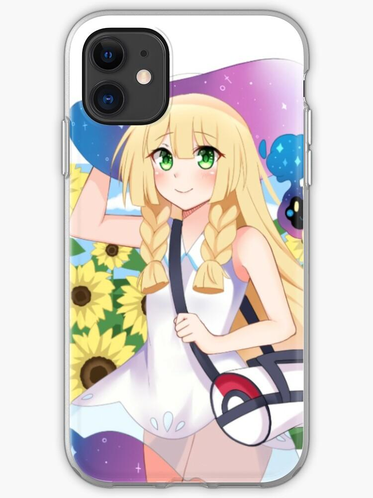 moon Lillie fanart print iPhone coque