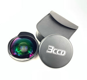 .3x 3CCD Fisheye Lens - 72mm Thread Mount - Hpx170/Hmc150/HVX200