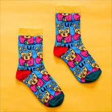 "Load image into Gallery viewer, ""Fook You"" Socks"