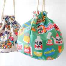 Load image into Gallery viewer, Perfect Day drawstring bag