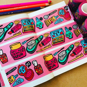 """Girls' Best Friend"" Washi Tape"