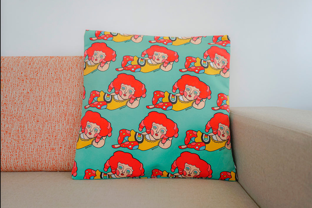 Lazy Abel Cushion Cover