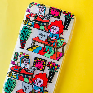 """Back to work"" Phone Case"