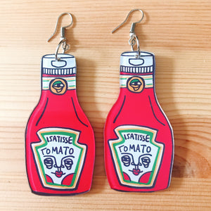 Ketchup Earring
