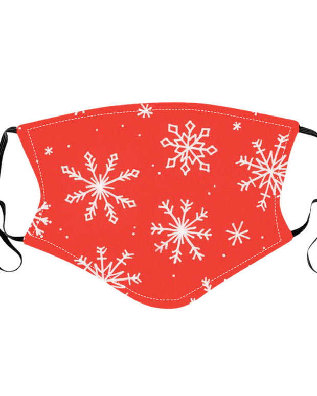 Christmas Cartoon Print Mask