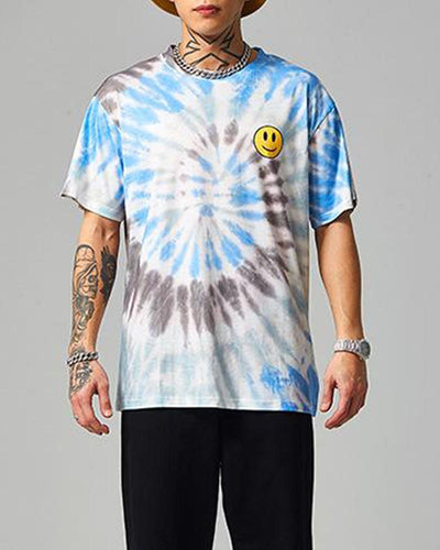 Smiley Face Tie Dye T-Shirt