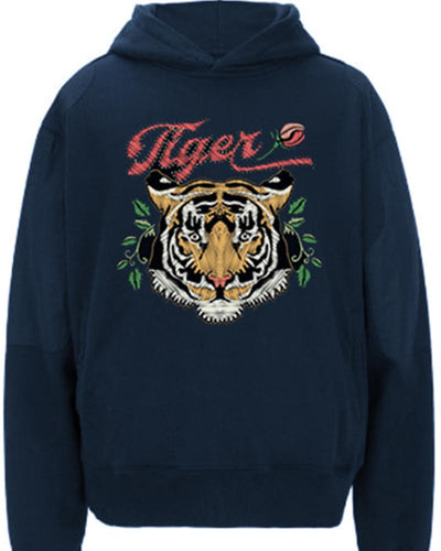 Tiger Printing Long Sleeve Sweatshirt