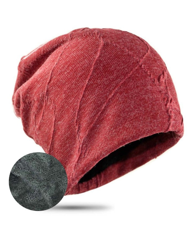 Solid Warmth Knit Rock Hats