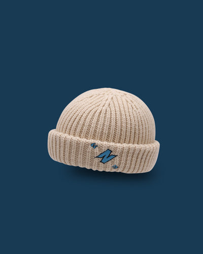 N Embroidery Knitted Hats
