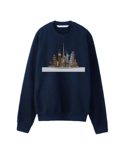 Construction Printing Long Sleeve T-shirts
