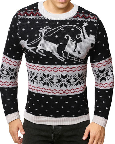 Chriatmas Long Sleeve Fitting Sweater