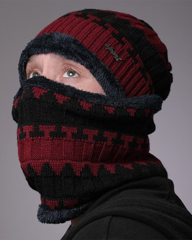 Vintage Style Knitted Thermal Hat