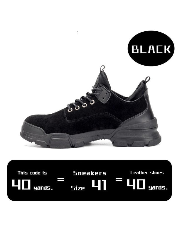 Round-toe Lace-up Solid Color Sneakers