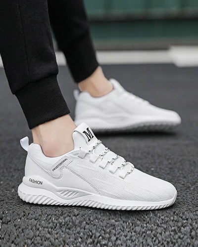 Lace Closure Mesh Upper Breathable Sneakers