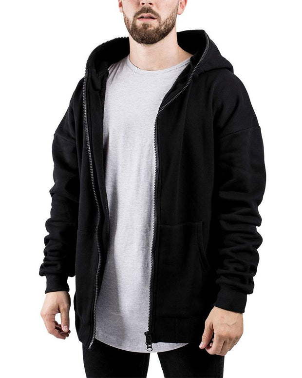 Solid Long Sleeve Loose Reversible Hoodies Swatshirts Coats