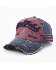 Vintage Letter Embroidery Baceball Cap