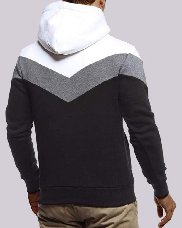 Colorblock Hoodies Long Sleeve Sweatshirts