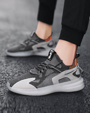 Jelly Sole Mesh Breathable Athletic Sneakers