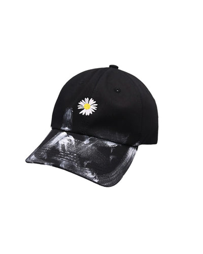 Flower Embroidery Hip-hop Caps