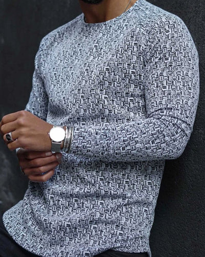 Solid Long Sleeve Loose T-shirts