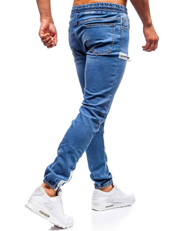 Solid Color Pencil Jean Pants