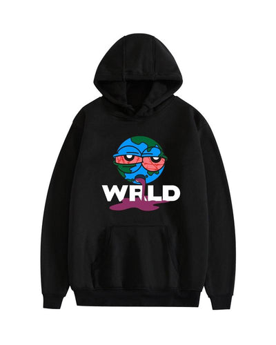 Cartoon Printing Long Sleeve Hooded Sweatshirt