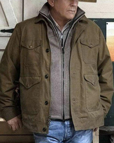 Solid Long Sleeve Single Breasted Jackets