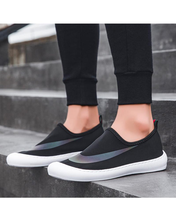 Colorblock Breathable Mesh Loafers Shoes