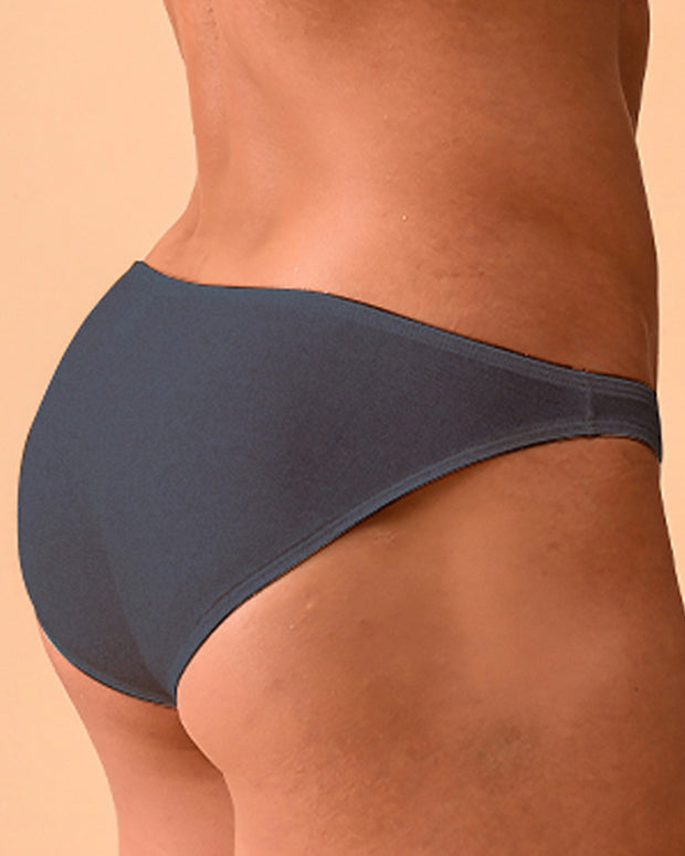 Solid Color Skinny Low Waist Underpants