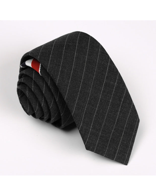 Business Three Striped Tie For Men