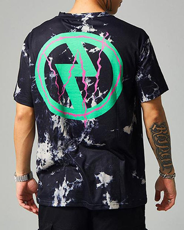 Lightning Bolt Tie Dye Shirt