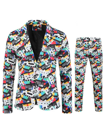 3D Cartoon Printing Long Sleeve Suit Sets