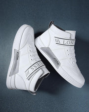 Letter Bandage Breathable High Top Sneaker