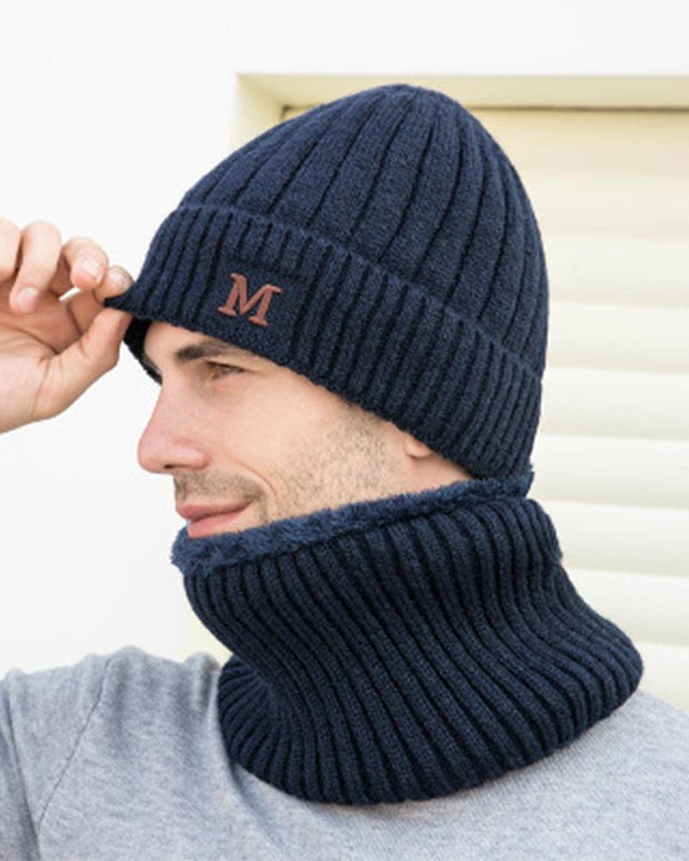 M Emroidery Knitted Hats